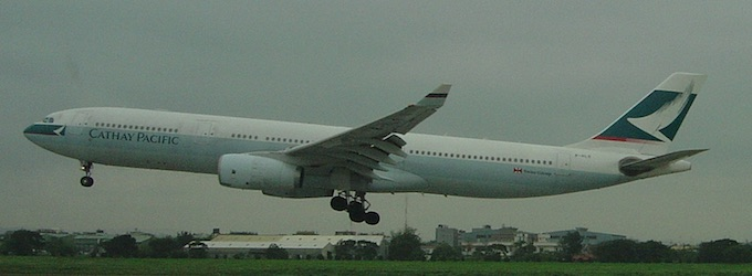 """Cathay A330"""